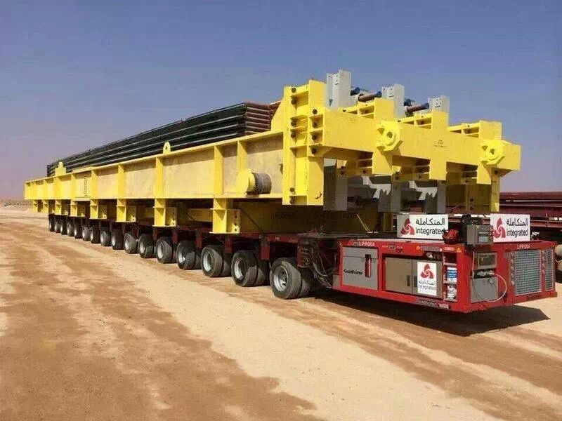 Rig Move Transport In Saudi Arabia, Heavy Lift