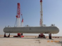 LPG Storage Tank Erection 447T