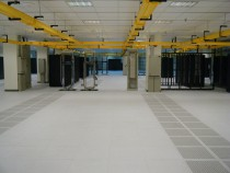 Wataniya III Switching Data Center Construction - Raised Floor Installation