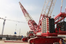 Chiller Erection _Kuwait University_35t_CC 2500