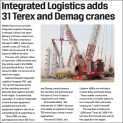 International Cranes And Specialized Transport Magzine News