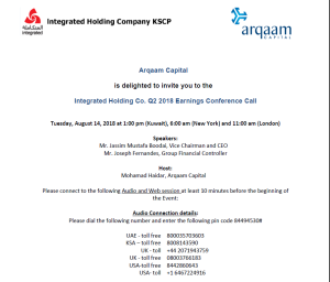 Group Archives - Integrated Holding Co  KSCPIntegrated