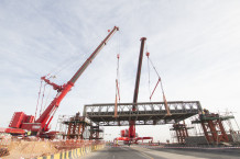 Heavy Lift - Bridge installation