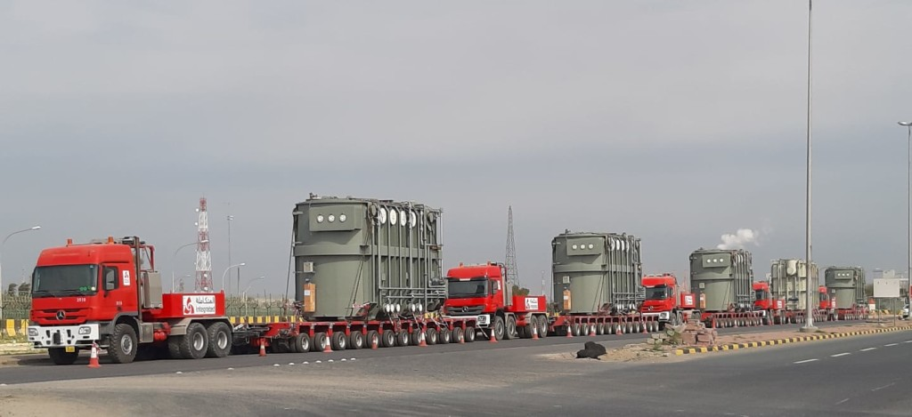 Heavy Transformer Transportation